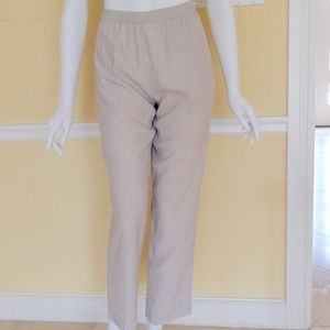 Delicate! Margiela Rayon Cream Pants Size 8